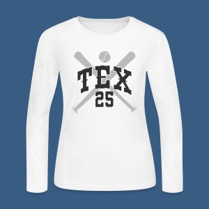 New York Tex 25 - Women's Long Sleeve Jersey T-Shirt