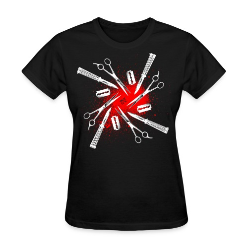 Womens Cutty Things Tee [black] - Women's T-Shirt