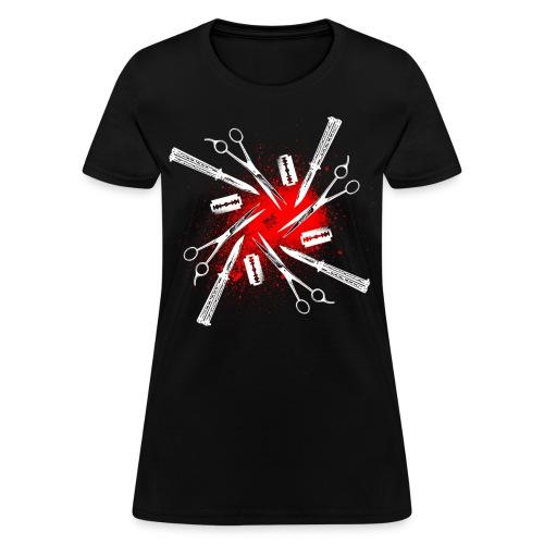Womens Cutty Things Tee [black] - Women's T-Shirt