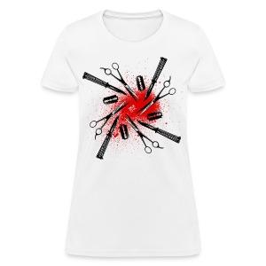 Womens Cutty Things tee [white] - Women's T-Shirt