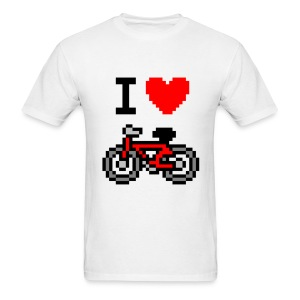 I ♥ Bicycle - Men's T-Shirt