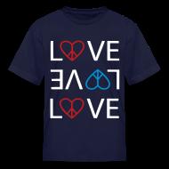Kids' Shirts ~ Kids' T-Shirt ~ Peace Love