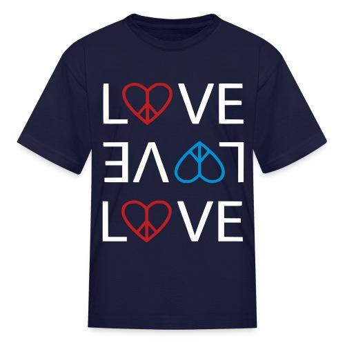 Peace Love - Kids' T-Shirt