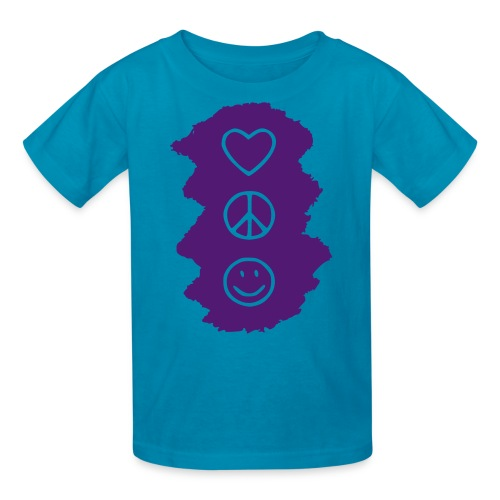 Peace Love Happiness - Kids' T-Shirt
