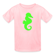 Kids' Shirts ~ Kids' T-Shirt ~ seahorse