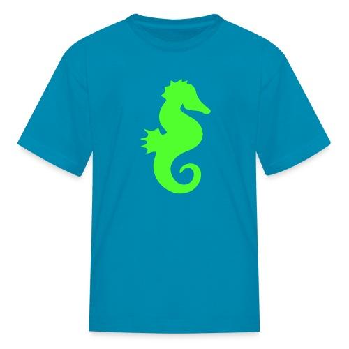 seahorse - Kids' T-Shirt