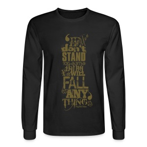 MalcolmX  Long sleeved T-Shirt - Men's Long Sleeve T-Shirt