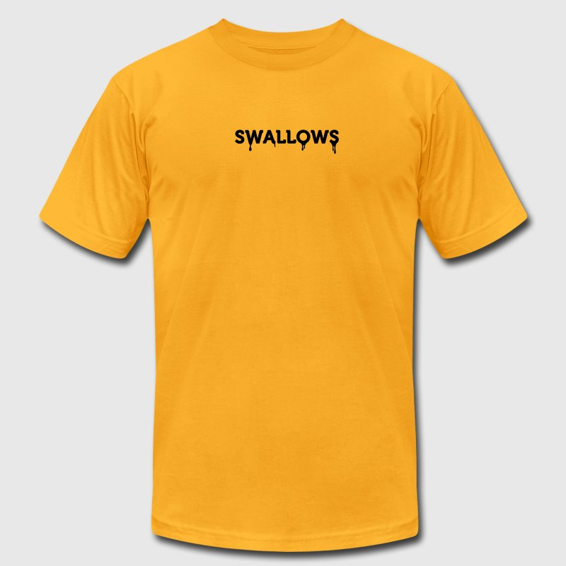 Swallows (1c) T-Shirts - Men's T-Shirt by American Apparel