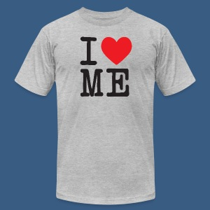 I Heart Me - Men's T-Shirt by American Apparel