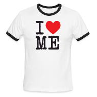 T-Shirts ~ Men's Ringer T-Shirt by American Apparel ~ I Heart Me