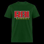 T-Shirts ~ Men's T-Shirt ~ R.B.I. Baseball