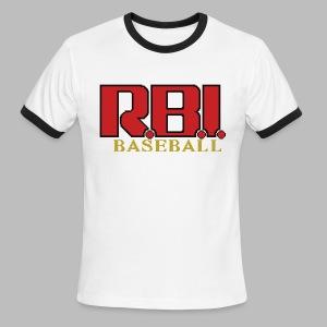 R.B.I. Baseball - Men's Ringer T-Shirt