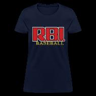 T-Shirts ~ Women's T-Shirt ~ R.B.I. Baseball