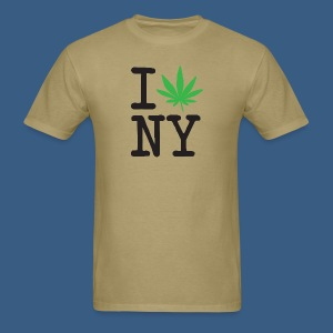 I Weed New York - Men's T-Shirt