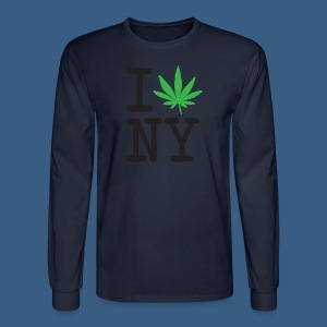 I Weed New York - Men's Long Sleeve T-Shirt