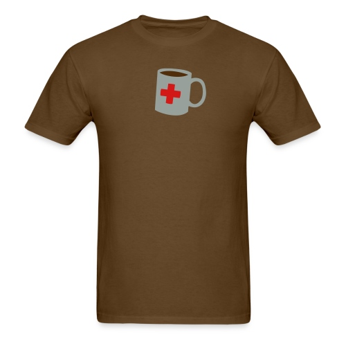 Coffee First Aid - Men's T-Shirt