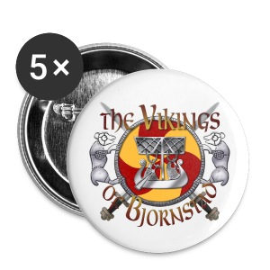 Small Vikings of Bjornstad Campaign Button - Small Buttons