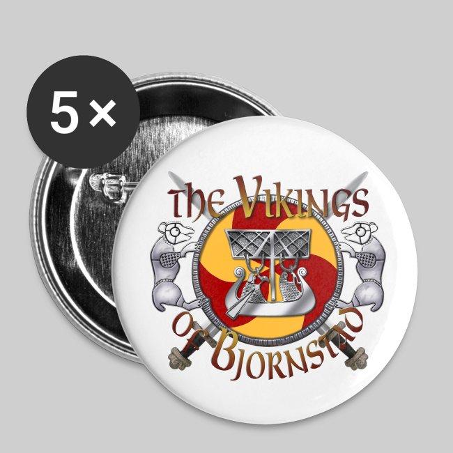 Small Vikings of Bjornstad Campaign Button