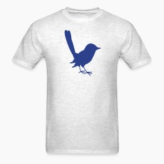 little blue fairy wren T-Shirts