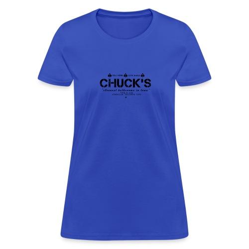 Chuck's Women's Standard Weight T - Women's T-Shirt
