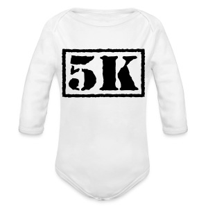 Top Secret 5K - Long Sleeve Baby Bodysuit