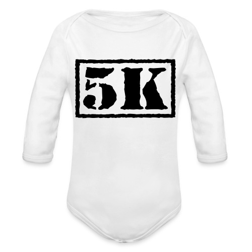 Top Secret 5K - Organic Long Sleeve Baby Bodysuit