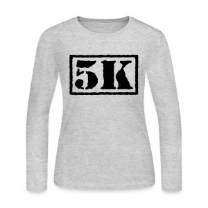 Top Secret 5K - Women's Long Sleeve Jersey T-Shirt
