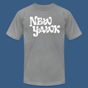 New Yawk - Men's T-Shirt by American Apparel
