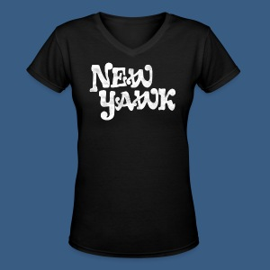 New Yawk - Women's V-Neck T-Shirt