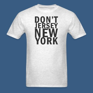 Dont Jersey New York - Men's T-Shirt