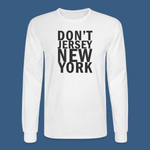 Dont Jersey New York - Men's Long Sleeve T-Shirt