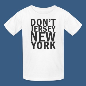 Dont Jersey New York - Kids' T-Shirt