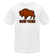 T-Shirts ~ Men's T-Shirt by American Apparel ~ Buffalo