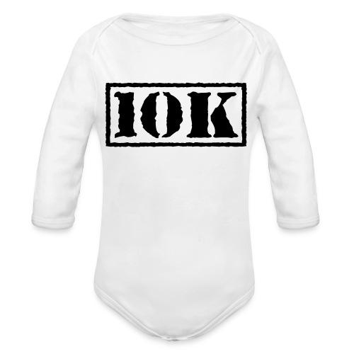 Top Secret 10K - Organic Long Sleeve Baby Bodysuit