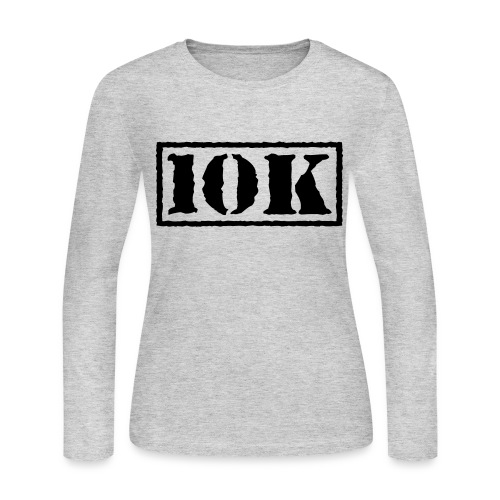 Top Secret 10K - Women's Long Sleeve Jersey T-Shirt