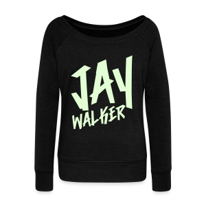 [JAY] Jwalker (Glow in the Dark) - Women's Wideneck Sweatshirt