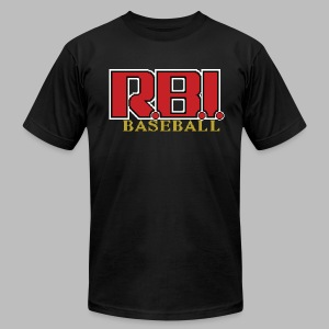 R.B.I. Baseball - Men's T-Shirt by American Apparel