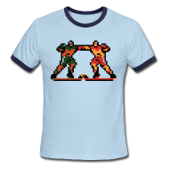 T-Shirts ~ Men's Ringer T-Shirt ~ The Enforcers - Blades of Steel