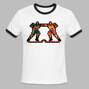 The Enforcers - Blades of Steel - Men's Ringer T-Shirt