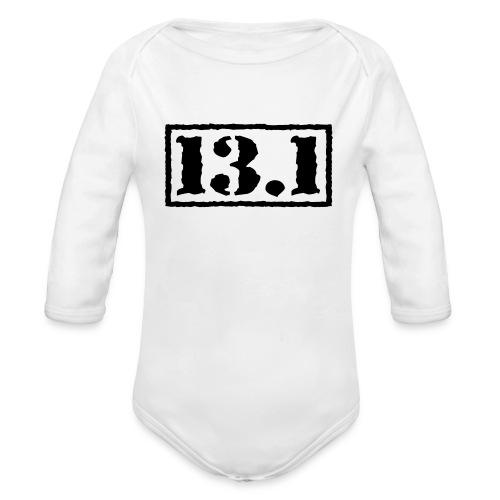 Top Secret 13.1 - Organic Long Sleeve Baby Bodysuit