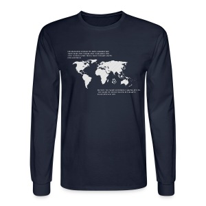 One World Hoodie - Men's Long Sleeve T-Shirt