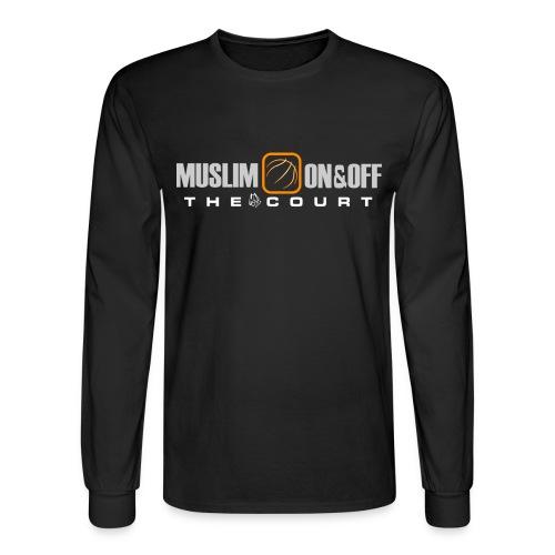 Muslim On&Off the court Long Sleeve - Men's Long Sleeve T-Shirt