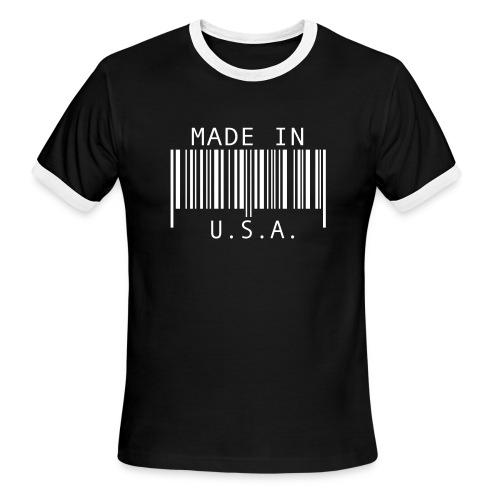 Made in U.S.A T - Men's Ringer T-Shirt