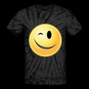 cartoon emoticons smiley face wink