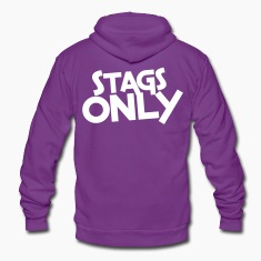stags only Zip Hoodies/Jackets