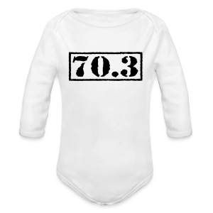 Top Secret 70.3 - Long Sleeve Baby Bodysuit