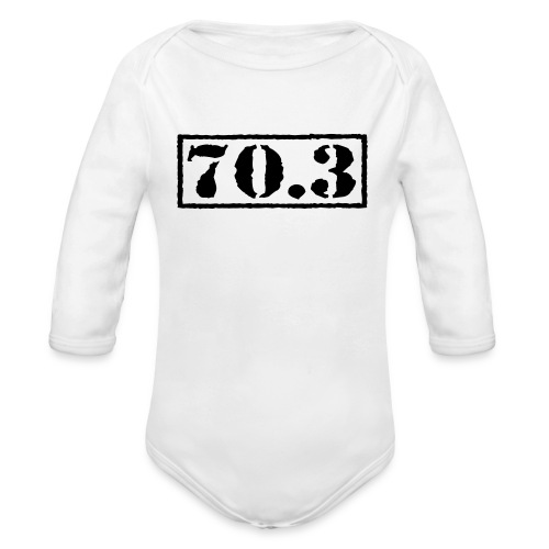 Top Secret 70.3 - Organic Long Sleeve Baby Bodysuit