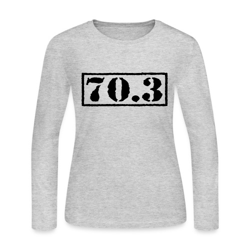 Top Secret 70.3 - Women's Long Sleeve Jersey T-Shirt