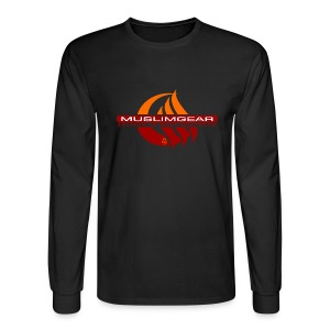 Moon wave Long Sleeved - Men's Long Sleeve T-Shirt