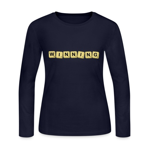 Winning! - Women's Long Sleeve Jersey T-Shirt